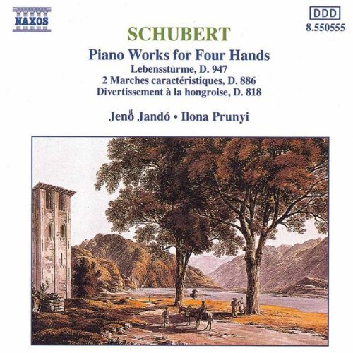 First Additional product image for - SCHUBERT Piano Works For Four Hands (1992) (NAXOS RECORDS) (GERMANY) (6 TRACKS) 320 Kbps MP3 ALBUM