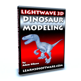Lightwave 3D Dinosaur Modeling | Movies and Videos | Educational
