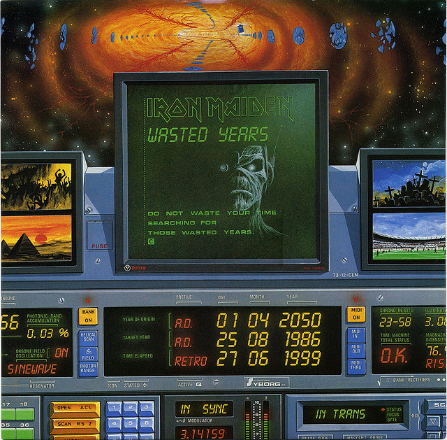 First Additional product image for - IRON MAIDEN Wasted Years (1986) (CASTLE RECORDS) (3 TRACKS) 320 Kbps MP3 SINGLE
