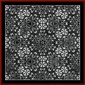 Fractal 292 cross stitch pattern by Cross Stitch Collectibles | Crafting | Cross-Stitch | Wall Hangings