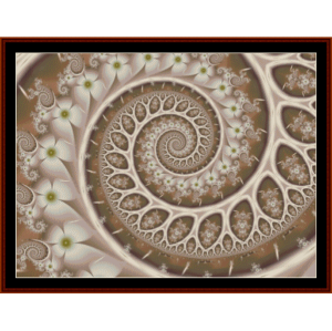 Fractal 306 cross stitch pattern by Cross Stitch Collectibles | Crafting | Cross-Stitch | Other