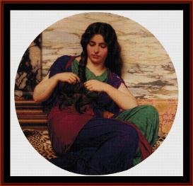 A Congenial Task - Godward cross stitch pattern by Cross Stitch Collectibles   Crafting   Cross-Stitch   Wall Hangings