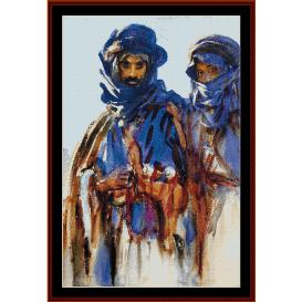 Bedouins- Sargent cross stitch pattern by Cross Stitch Collectibles | Crafting | Cross-Stitch | Wall Hangings