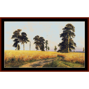 Rye Field - Shishkin cross stitch pattern by Cross Stitch Collectibles | Crafting | Cross-Stitch | Other
