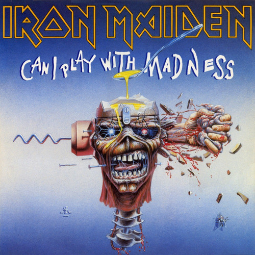 First Additional product image for - IRON MAIDEN Can I Play With Madness (1988) (CAPITOL RECORDS) (3 TRACKS) 320 Kbps MP3 SINGLE