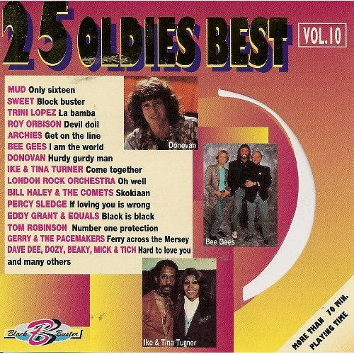First Additional product image for - 25 OLDIES BEST VOL. 10 Various Artists (1995) (SELECTED SOUND CARRIER AG) (25 TRACKS) 320 Kbps MP3 ALBUM