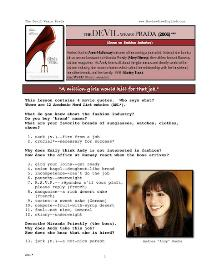 THE DEVIL WEARS PRADA,  Whole-Movie English (ESL) Lesson | eBooks | Education