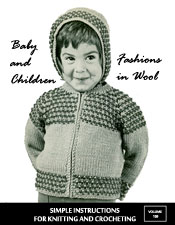 Baby and Children Fashions in Wool - Adobe .pdf Format | eBooks | Arts and Crafts