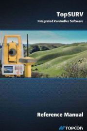 Topcon TopSURV Integrated Controller Software Ref Manual | Documents and Forms | Manuals