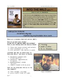 into the wild, whole-movie english (esl) lesson
