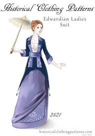 edwardian ladies suit pattern