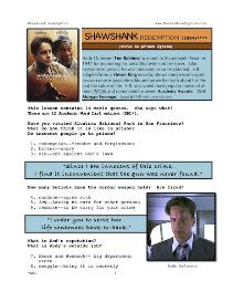 SHAWSHANK REDEMPTION, Whole-Movie English (ESL) Lesson | eBooks | Education