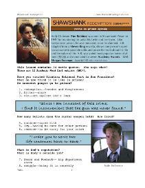 SHAWSHANK REDEMPTION, Whole-Movie English (ESL) Lesson   eBooks   Education