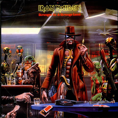 First Additional product image for - IRON MAIDEN Stranger In A Strange Land (1986) (EMI RECORDS) (3 TRACKS) 320 Kbps MP3 SINGLE