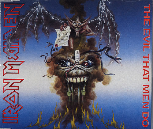 First Additional product image for - IRON MAIDEN The Evil That Men Do (1988) (EMI RECORDS) (3 TRACKS) 320 Kbps MP3 SINGLE