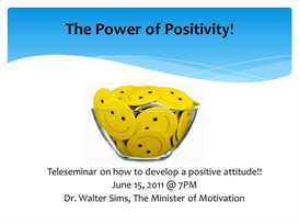 the power of positivity audio