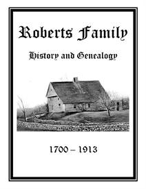 Roberts Family History and Genealogy | eBooks | History