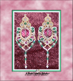 Berries and Cream with Mint Earrings | eBooks | Arts and Crafts