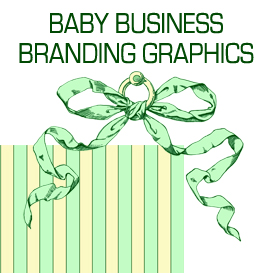 Green and Yellow Baby Business Branding Designs | Photos and Images | Business World