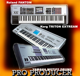 PRO COLLECTION Fantom,Triton Extream,Motiff,Mpc 4000 | Music | Soundbanks