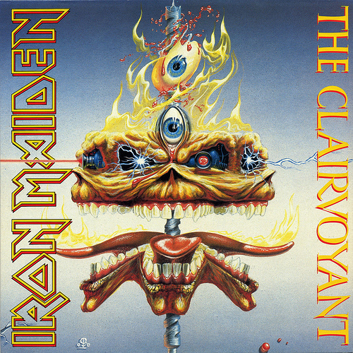 First Additional product image for - IRON MAIDEN The Clairvoyant (1988) (EMI RECORDS) (3 TRACKS) 320 Kbps MP3 SINGLE