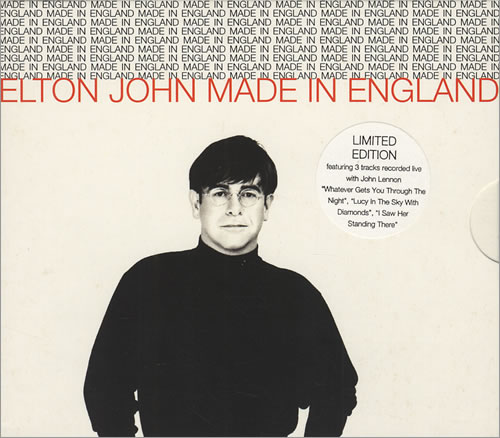 First Additional product image for - ELTON JOHN Made In England (1995) (ISLAND RECORDS) (5 TRACKS) 320 Kbps MP3 SINGLE