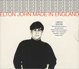 ELTON JOHN Made In England (1995) (ISLAND RECORDS) (5 TRACKS) 320 Kbps MP3 SINGLE | Music | Popular