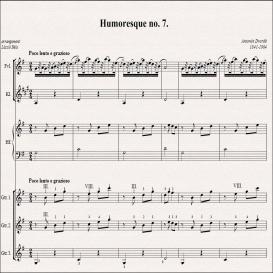 A. Dvorak - Humoresque no. 7. score | eBooks | Sheet Music