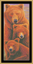 Alaska Coming Cross Stitch Pattern Download