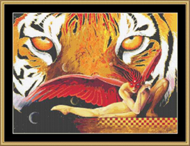 The Tigress  Cross Stitch Pattern Download | Crafting | Cross-Stitch | Other