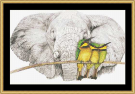 Bee Eater Boys  Cross Stitch Pattern Download | Crafting | Cross-Stitch | Other