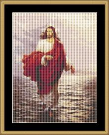 Walking On Water  Cross Stitch Pattern Download | Crafting | Cross-Stitch | Other