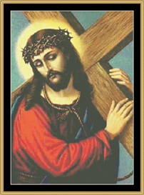Jesus  Cross Stitch Pattern Download | Crafting | Cross-Stitch | Other