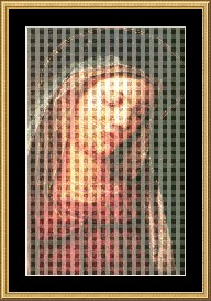 mary 27  cross stitch pattern download