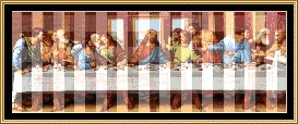The Last Supper Cross Stitch Pattern Download | Crafting | Cross-Stitch | Other