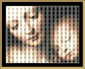 Madonna & Child Cross Stitch Pattern Download | Crafting | Cross-Stitch | Other