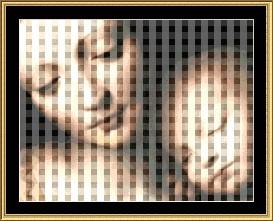 Madonna & Child Cross Stitch Pattern Download | Crafting | Cross-Stitch | Other