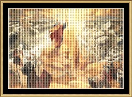 Parting Of The Red Sea  Cross Stitch Pattern Download | Crafting | Cross-Stitch | Other