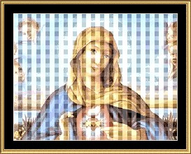 Our Lady Sacred Heart Cross Stitch Pattern Download | Crafting | Cross-Stitch | Other