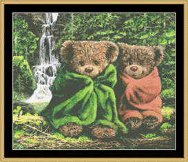 By The Falls  Cross Stitch Pattern Download | Crafting | Cross-Stitch | Other