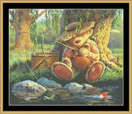 Fishin Hole  Cross Stitch Pattern Download | Crafting | Cross-Stitch | Other