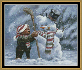 Snowbear  Cross Stitch Pattern Download | Crafting | Cross-Stitch | Other