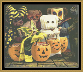 Trick Or Treat Cross Stitch Pattern Download | Crafting | Cross-Stitch | Other