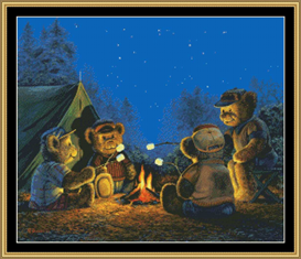 Campfire Treats Cross Stitch Pattern Download | Crafting | Cross-Stitch | Other