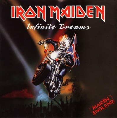 First Additional product image for - IRON MAIDEN Infinite Dreams (Live) (1989) (EMI RECORDS) (3 TRACKS) 320 Kbps MP3 SINGLE
