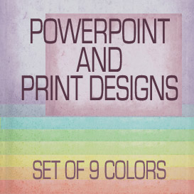 mottled powerpoint and print templates