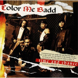 COLOR ME BADD Time And Chance (1993) (GIANT RECORDS) (17 TRACKS) 320 Kbps MP3 ALBUM | Music | R & B