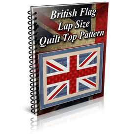 British Flag Lap Size Quilt Top Pattern | Other Files | Patterns and Templates