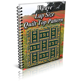 Weave Lap Size Quilt Top Pattern | Other Files | Patterns and Templates