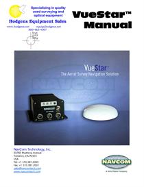 Navcom VueStar Manual | Documents and Forms | Manuals